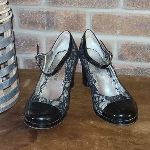 Rampage Lace Accent Shoes Heels